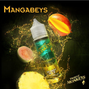 Mangabeys (50ml) Plus e Liquid by Twelve Monkeys