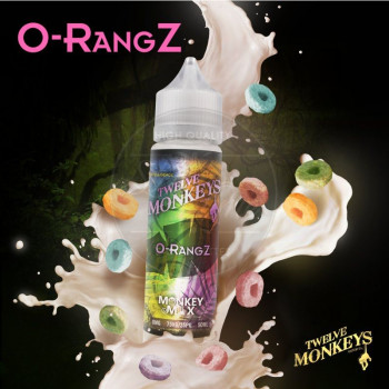 O-RangZ (50ml) Plus e Liquid by Twelve Monkeys