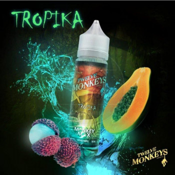 Tropika (50ml) Plus e Liquid by Twelve Monkeys