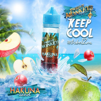 Hakuna Iced (50ml) Plus e Liquid by Twelve Monkeys Keep Cool
