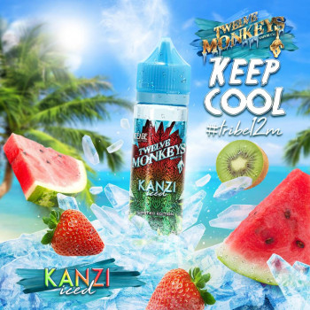 Kanzi Iced (50ml) Plus e Liquid by Twelve Monkeys Keep Cool