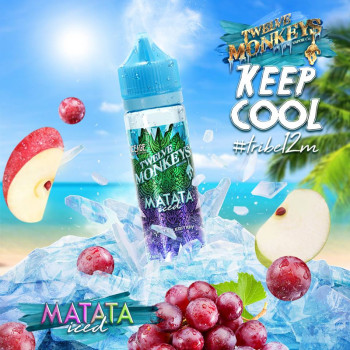 Matata Iced (50ml) Plus e Liquid by Twelve Monkeys Keep Cool