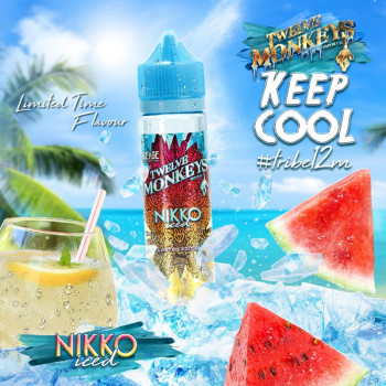 Nikko Iced (50ml) Plus e Liquid by Twelve Monkeys Keep Cool