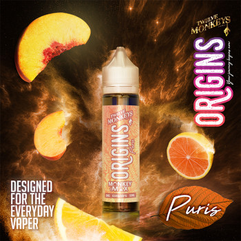 Puris (50ml) Plus e Liquid by Twelve Monkeys Origins
