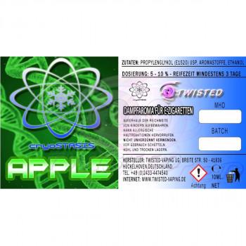 Twisted Vaping Cryostasis Aroma Apfel 10ml
