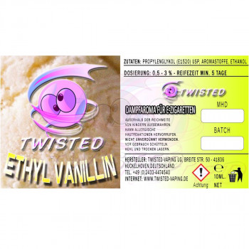 Ethyl Vanillin 10ml Aroma by Twisted Vaping