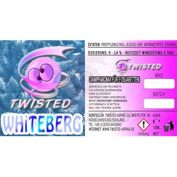 Twisted Vaping Aroma 10ml Whiteberg