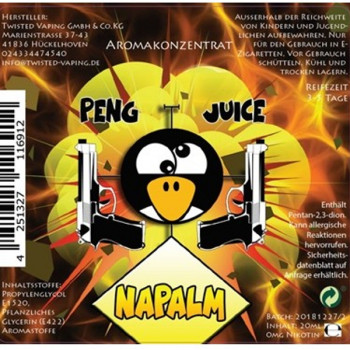 Napalm 20ml Bottlefill Aroma Peng Juice Serie by Twisted Vaping