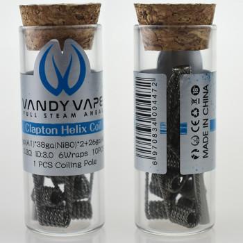 VandyVape Clapton Helix Coil (10pcs) Flasche