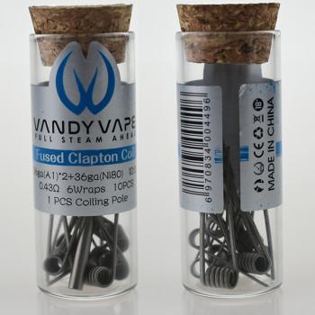 VandyVape Fused Clapton Coil (10pcs) Flasche