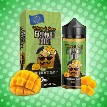 Mango and Cream French Dude (100ml) Plus e Liquid by Vape Breakfast Classics