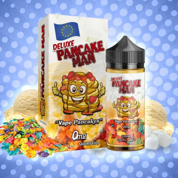 Pancake Man Deluxe (100ml) Plus e Liquid by Vape Breakfast Classics