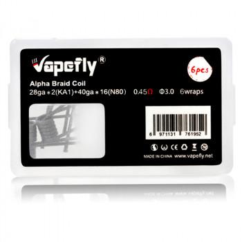 Alpha Braid Prebuilt Coil 6 Stück by Vapefly