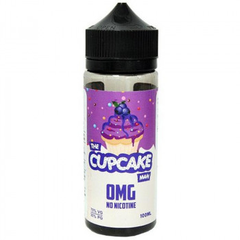 The Cupcake Man Blueberry (100ml) Plus e Liquid by Vaper Treats