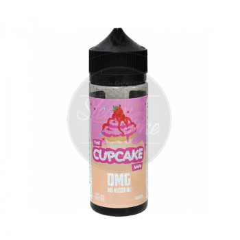 The Cupcake Man Strawberry (100ml) Plus e Liquid by Vaper Treats