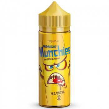 O.G. Bnana (100ml) Plus e Liquid by Vaporist Midnight Munchies