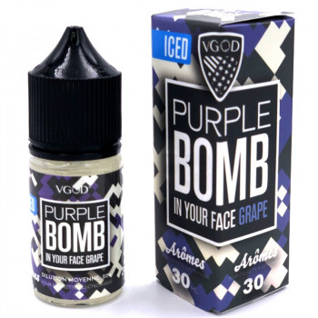 Iced Purple Bomb 30ml Aroma by VGOD