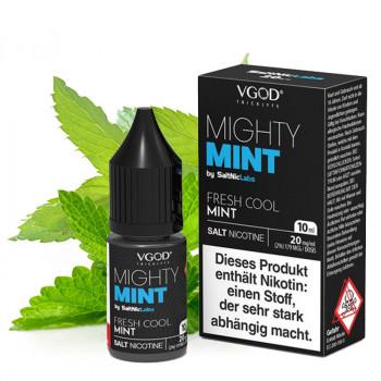 Mighty Mint Saltnic 20mg 10ml NicSalt Liquid by VGOD