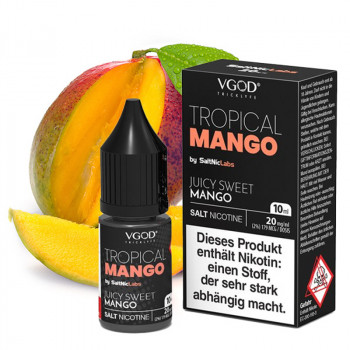 Tropical Mango Saltnic 20mg 10ml NicSalt Liquid by VGOD