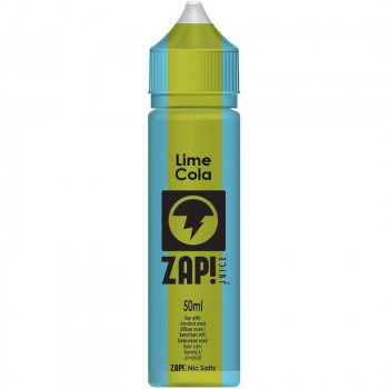 Lime Cola (50ml) Plus e Liquid Vintage Cola Selection by ZAP! Juice