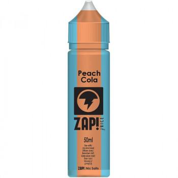 Peach Cola (50ml) Plus e Liquid Vintage Cola Selection by ZAP! Juice