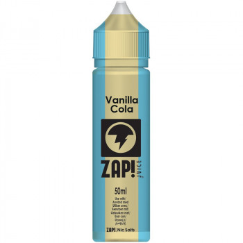 Vanilla Cola (50ml) Plus e Liquid Vintage Cola Selection by ZAP! Juice