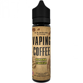 Bananen Liqueur (50ml) Plus Vaping Coffee e Liquid by VoVan