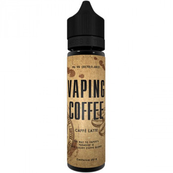 Cafe Latte (50ml) Plus Vaping Coffee e Liquid by VoVan