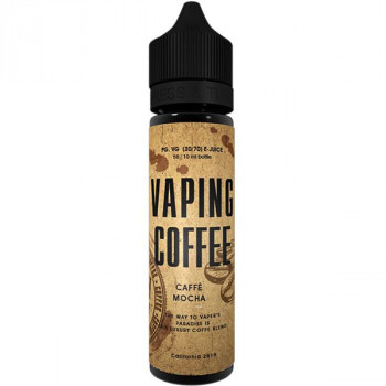 Cafe Mocha (50ml) Plus Vaping Coffee e Liquid by VoVan