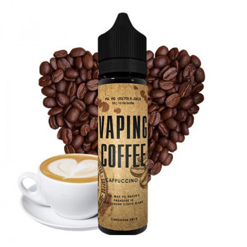 Cappuccino (50ml) Plus Vaping Coffee e Liquid by VoVan