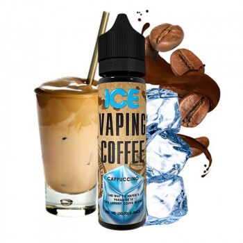 Cappuccino Ice (50ml) Plus Vaping Coffee e Liquid by VoVan