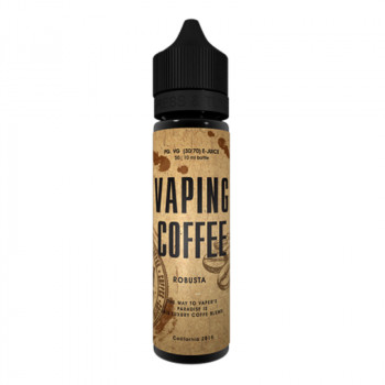 Robusta (50ml) Plus Vaping Coffee e Liquid by VoVan