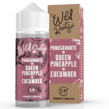 Pomegranate 100ml Shortfill Liquid by Wild Roots