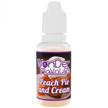 Peach Pie & Cream 30ml Aroma by Wonder Flavours