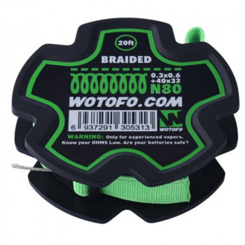 Wotofo Braided Wire 20 feet/spool Wickeldraht