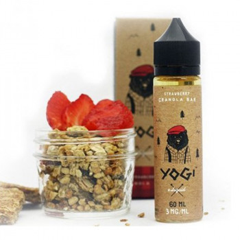 Strawberry Granola Bar (50ml) Plus e Liquid by Yogi