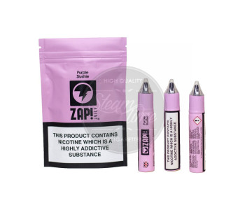 Purple Slushie 3 x 10ml e Liquid by ZAP! Juice