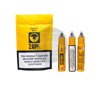 Starfruit Burst 3 x 10ml e Liquid by ZAP! Juice