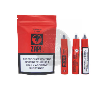 Summer Cider 3 x 10ml e Liquid by ZAP! Juice