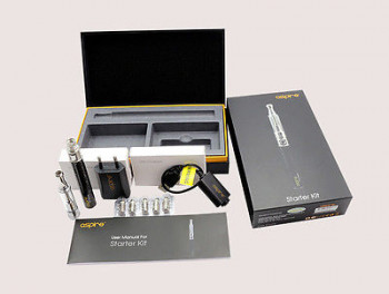 Aspire K1 Starter Kit mit BVC Coils + CF-G Power
