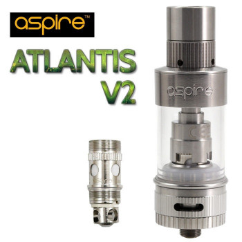 Aspire ATLANTIS 2 SubOhm Clearomizer Set (inkl. Air Control) 0,3Ohm