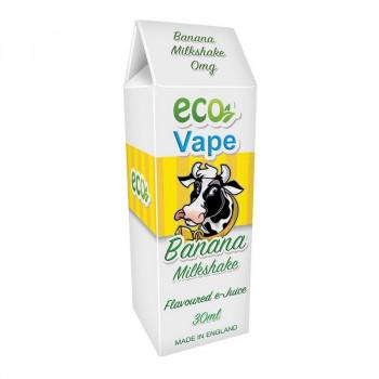 Banana Milkshake Drip Juice by Eco Vape