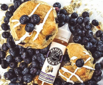 Cinnamon Glazed Blueberry Scone by Barista Brew Co.