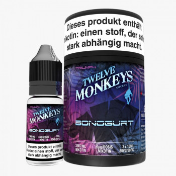 Twelve Monkeys Bonogurt 3x10ml Multipack e Liquid