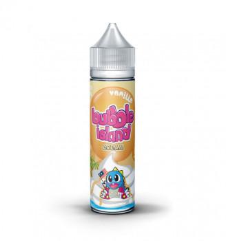 Cream Vanilla PLUS 50ml e Liquid by Bubble Island