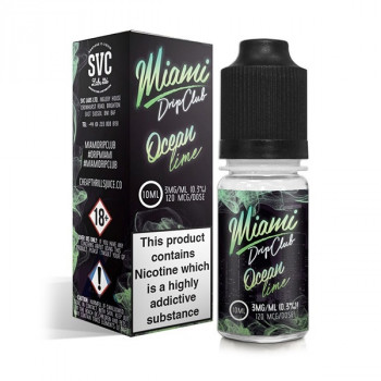 Miami Drip Club Ocean Lime 3x10ml