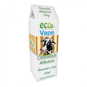 Chocolate Milkshake Drip Juice by Eco Vape