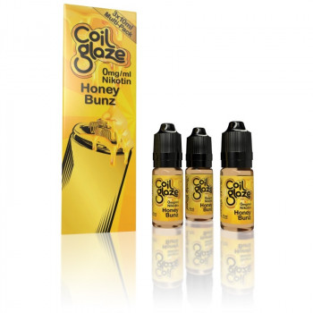 Coil Glaze eLiquid Honey Bunz 3 x 10ml