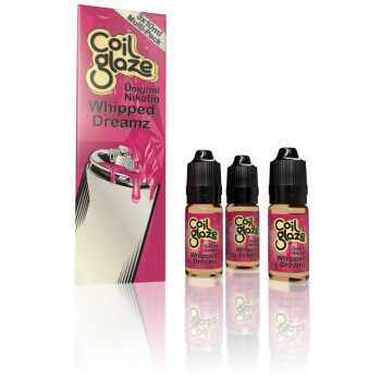 Coil Glaze eLiquid Whipped Dreamz 3 x10ml