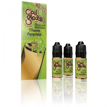 Coil Glaze eLiquid Them Applez 3 x10ml